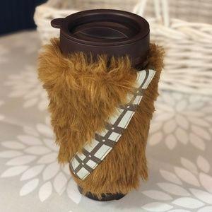 Chewbacca travel coffee mug with sound